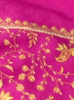 Tila Work Chinnon Saree (Pink)