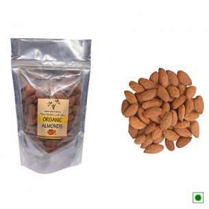 Kashmiri Organic Almond Kernel 250 Gms