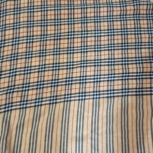 PASHMINA BURBERRY CHECK SHAWL GENTS